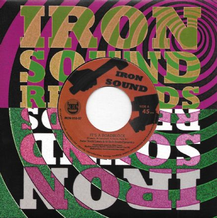 Peter 'Roots' Lewis - It's A Roadblock / Alien Dread - dub (Iron Sound) 7""